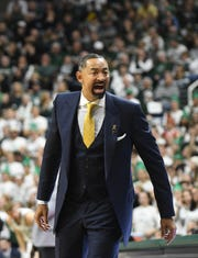 Michigan head coach Juwan Howard lost his first game against Michigan State as a head coach.
