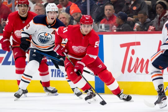 Veteran forward Valtteri Filppula is in his second stint with the Red Wings, having played with Detroit from 2005-13.