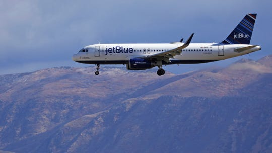 JetBlue produces about 8 million metric tons of carbon-dioxide emissions each year and is working on a plan to compensate for international flights, said Sophia Mendelsohn, JetBlue's head of sustainability.