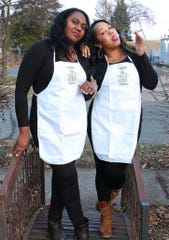 April Forbes, right and Key Locke are 2 Dope Chefz, a new pop-up dinner series featuring THC-infused cuisine.