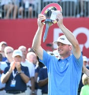 Nate Lashley won the inaugural Rocket Mortgage Classic at Detroit Golf Club.