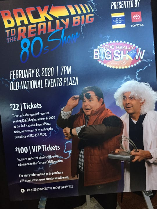 The Arc of Evansville's Really Big Show is coming up Feb. 8.