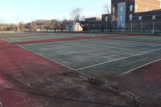 The City of Fremont plans to resurface the tennis courts at Rodger Young Park this year, thanks to a state capital improvement grant.