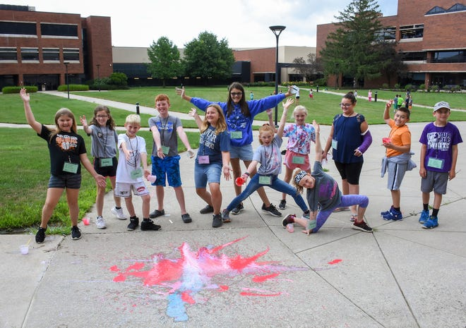 Area youths attend classes in July for KidsCollege.