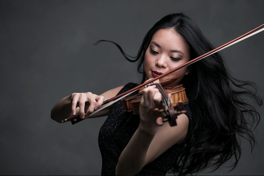 """Violinist Sirena Huang will perform at Saturday's """"The Romantix"""" concert with the Southwest Florida Symphony."""