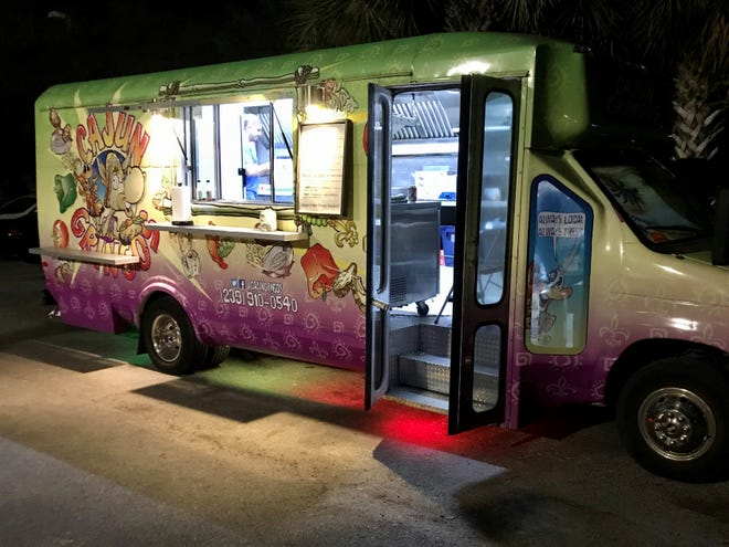 Cajun Gringos food truck serves at breweries and events around Southwest Florida.