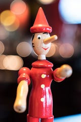 Bianca's is not only known for food and service, but also its collection of Pinocchios