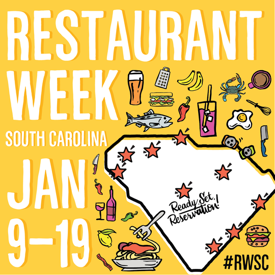 Restaurant Week South Carolina includes nearly two weeks of food and beverage deals at nearly 70 restaurants throughout the Upstate.