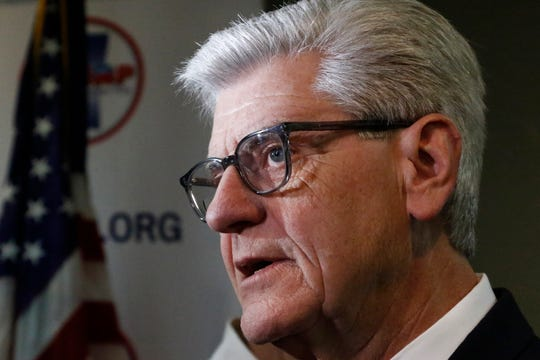 Then-Gov. Phil Bryant met with the founder of a Florida drug company that allegedly received more than $2 million of welfare money.