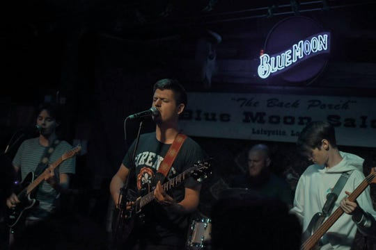 Magic Crawfish, Lafayette based modern rock band, started as marching band friends and now has a second album coming this year.