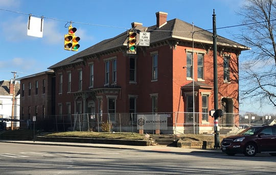 The county plans to open the renovated Beery House at High and Main streets in March to house the Fairfield County auditor's real estate department.
