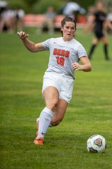 Former Lancaster standout Erica Campbell and Heidelberg soccer player capped a tremendous career by being named to the Heidelberg women's soccer All-Decade Team.
