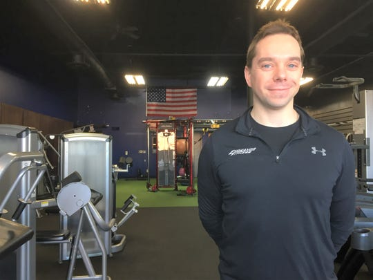 Endeavor Fitness owner Matthew Jermov stands in his Genoa Township gym, Monday, Dec. 6, 2020. He has a 36,000-square-foot fitness and health center under construction in Oceola Township.