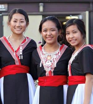Hmong dancers