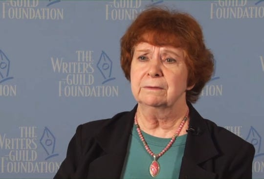 D.C. Fontana being interviewed in 2012 for The Writer Speaks series.