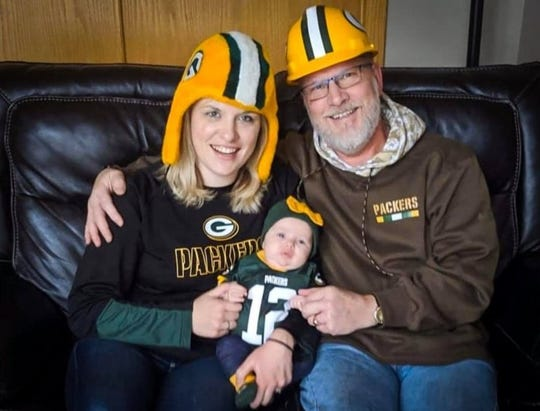 Emily Jussila of Waukesha wrote an essay to nominate her dad, Bob Pinzl, for the Packers FAN Hall of Fame.