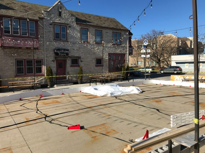 German restaurant Kegel's Inn, at 5901 W. National Ave. in West Allis, plans to open a free ice skating rink to the public this winter.