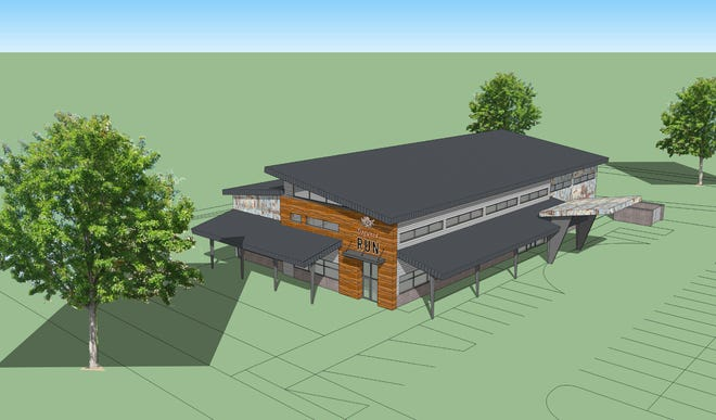 The Hounds & Tap is expected to open in May in Menomonee Falls. The 12,000-square-foot facility at Silver Spring Road and Technology Drive, will include a tavern, dog park, doggy daycare, boarding and grooming services.