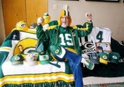 Bob Pinzl of Waukesha is a finalist for the Packers FAN Hall of Fame.