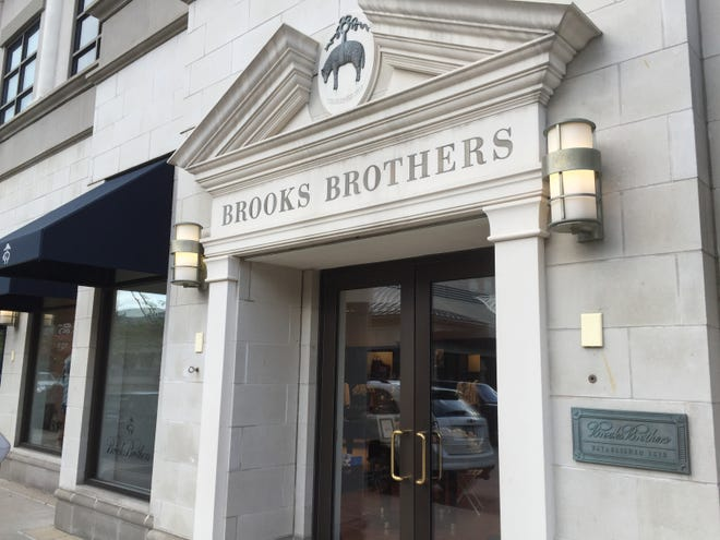 The Brooks Brothers store at Bayshore