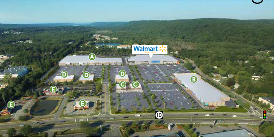 A newly renovated Ledgewood Commons along with a Walmart Supercenter in Roxbury are set to debut October 2020.