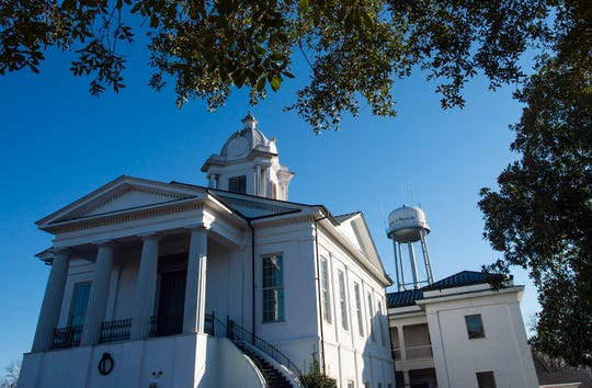 The Lowndes County Courthouse in Hayneville, Ala., on Monday January 6, 2020 during a preliminary hearing the case of the November shooting death of Lowndes County Sheriff Big John Williams.