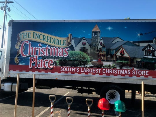 The Mt. Juliet Incredible Christmas Place store now projects a fourth quarter opening.