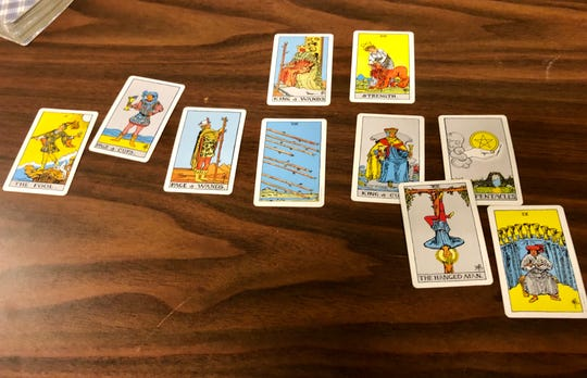 A good year was in the (tarot) cards.