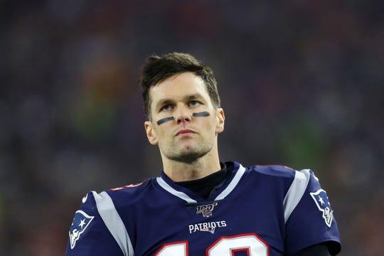 Tom Brady, QB de los Patriots.
