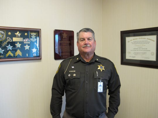 St. Clair County Jail administrator Tom Bliss retired Jan. 1 after almost a decade serving the county.