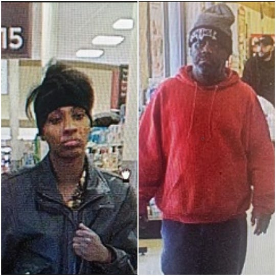 Police are looking for these two, suspected of theft at the Weis on White Street in West Manchester Township.