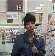 West Manchester Township Police are hoping to identify this female theft suspect, seen Sunday at the Weis on White Street.