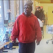 West Manchester Township Police are hoping to identify this male theft suspect, seen Sunday at the Weis on White Street.