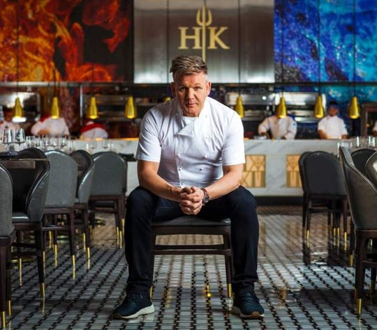 Chef Gordon Ramsay's third Hell's Kitchen restaurant opens Jan. 8, 2020, in Harveys casino at Lake Tahoe. The chef is scheduled to attend a grand opening, perhaps sometime in late March.