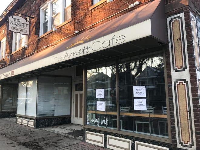 The Arnett Café is at 332 Arnett Blvd.