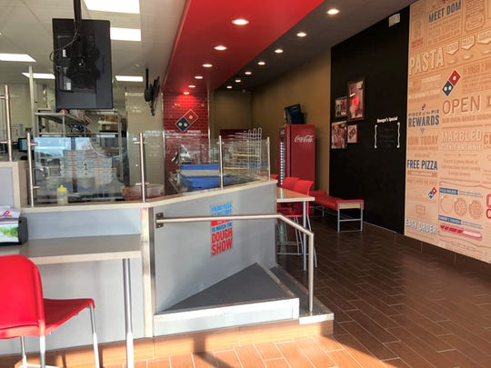"""Domino's """"pizza theater"""", located at 4814 Southland Blvd in San Angelo."""