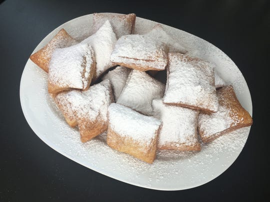 A shareable platter of beignets at Ralph's Place, now open at 1173 Louisiana Ave. in Shreveport.