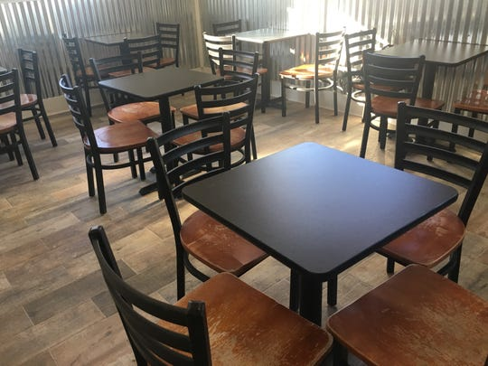Ralph's Place dining room. The restaurant official opened Jan. 2020 at 1173 Louisiana Ave. in Shreveport.