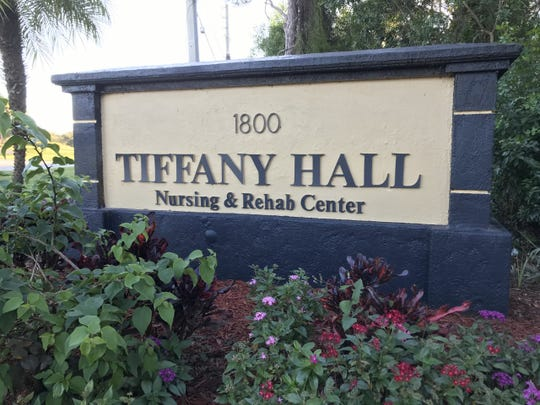 Tiffany Hall Nursing & Rehab Center where Port St. Lucie police are investigating the homicide of a 95-year-old patient.