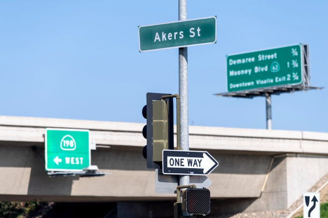 The Akers widening project, scheduled to begin on Monday, Jan. 13, entails the widening and improvements of Akers Street and the on-ramps at the Highway 198 interchange.