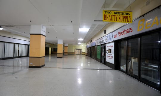 The White Plains Mall, photographed Jan. 6, 2020, is mostly vacant as almost all the businesses previously located in the mall have either closed or moved. The White Plains Common Council has announced plans to tear down the mall and replace it with a development called Hamilton Green, which is to include commercial and residential space. The plan has been stalled as the site plan approval for the property has expired.