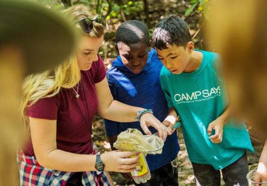 Camp SAY in East Stroudsburg, Pennsylvania each August gives children who stutter a judgment-free sleep-away-camp experience. Funds from Kelli O'Hara's Jan. 16, 2020 concert at Irvington Town Hall Theater will help to cover scholarships for those campers in financial need.