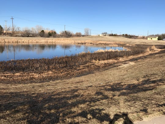 Wichita Falls police are investigating to identify a body discovered Sunday in Maplewood Pond.