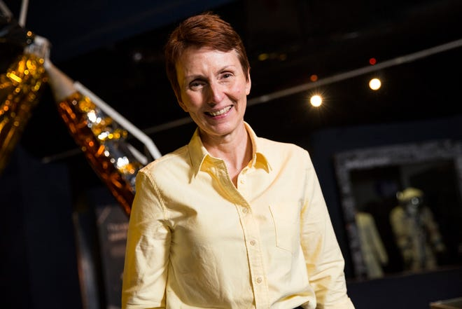 British astronaut Helen Sharman attends an event to mark 25 years since her space mission hosted by the Science Museum on May 20, 2016 in London, England.