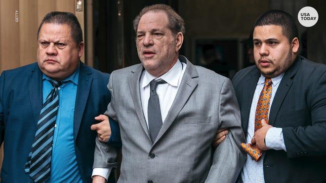 Harvey Weinstein arrives at sex-crime trial