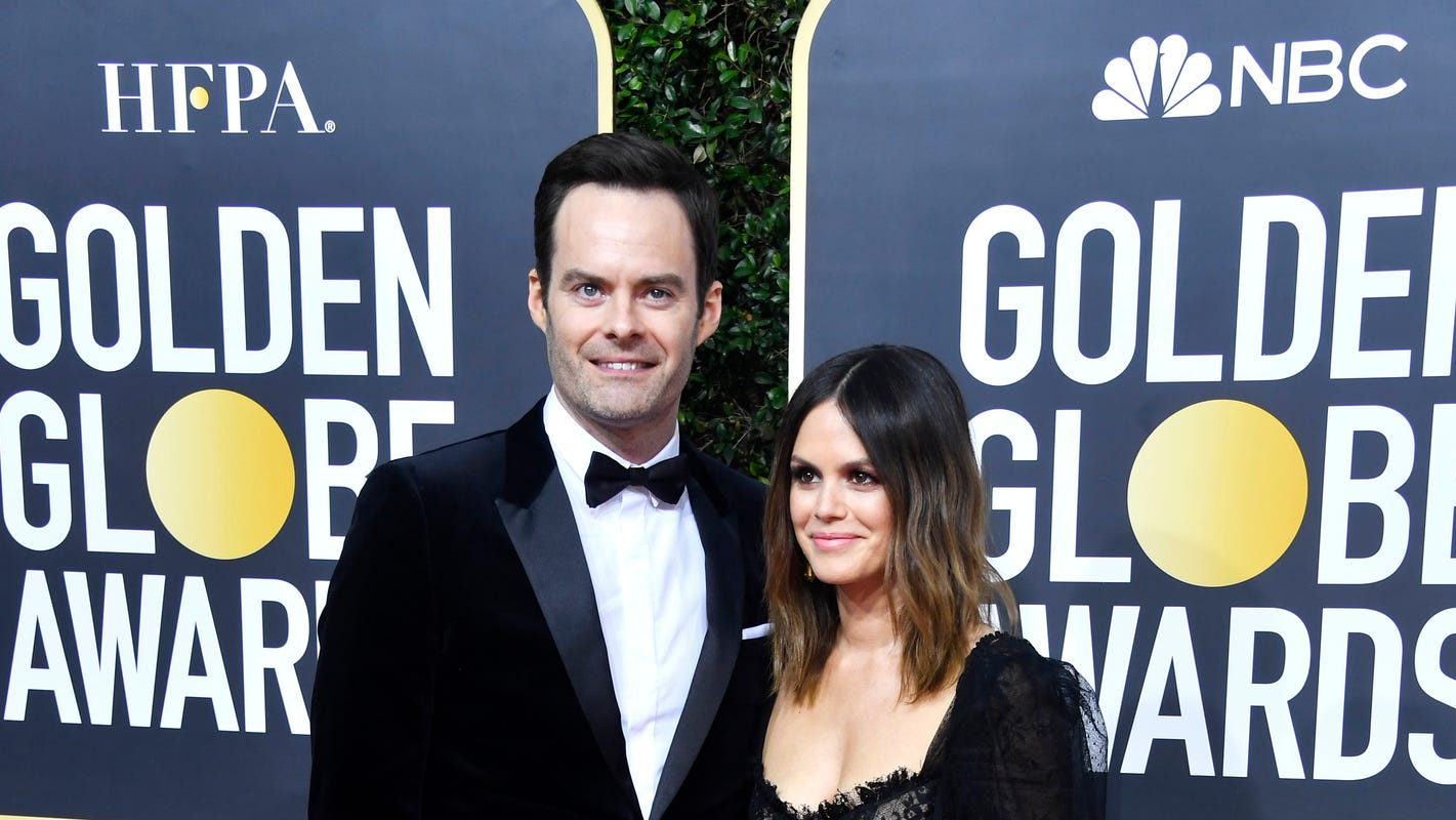 Rachel Bilson and Bill Hader, Michelle Williams and Thomas Kail and more couples rule Golden Globes