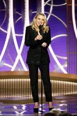 Kate McKinnon presented Ellen DeGeneres with the Carol Burnett Award.