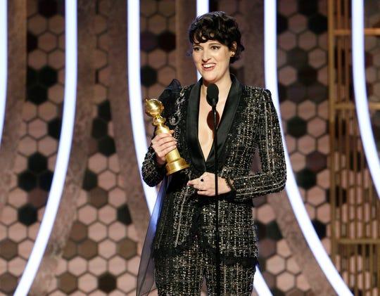 """Fleabag"" scored two Golden Globes Sunday night for creator and star Phoebe Waller-Bridge."
