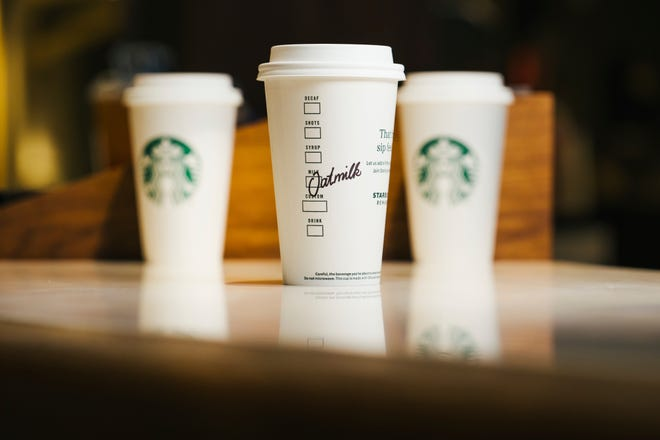 Starbucks has a Happy Hour deal Thursday, which also is Galentine's Day.