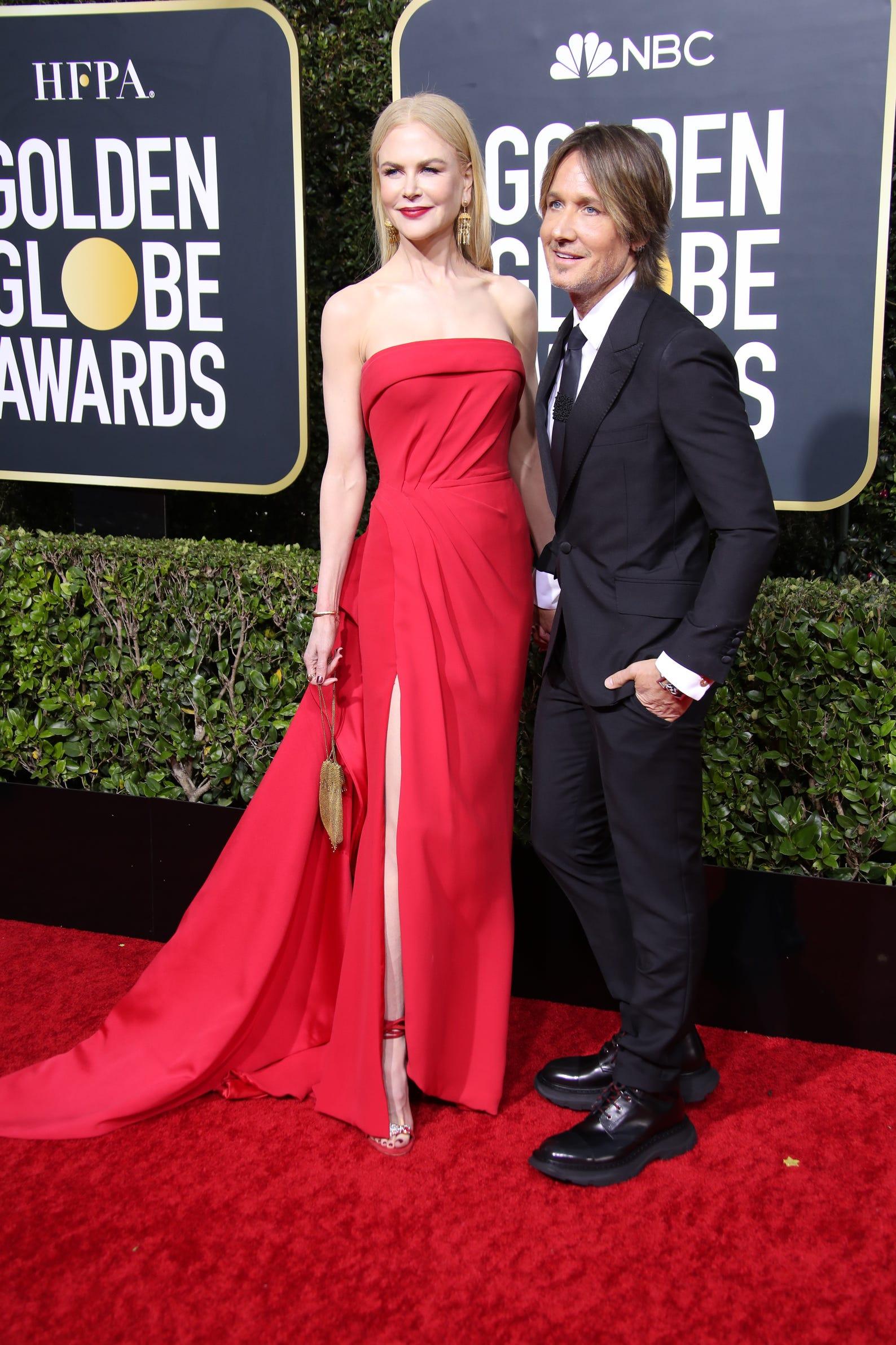 Nicole Kidman, left, and Keith Urban